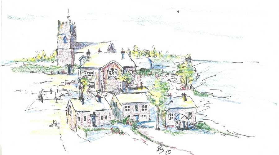 Boscastle Drawing